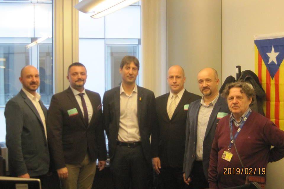 Brüsszelben tárgyalt az MKDSZ elnöksége